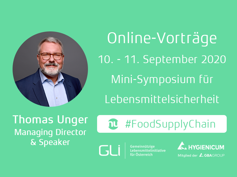 Mini-Symposium für Lebensmittelsicherheit - Online-Vorträge
